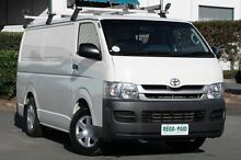 2010 Toyota Hiace KDH201R MY10 LWB White 5 Speed Manual Van Acacia Ridge Brisbane South West Preview