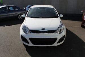 2014 Kia Rio UB MY14 S White 4 Speed Sports Automatic Hatchback
