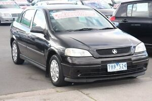 2001 Holden Astra TS City Black 4 Speed Automatic Hatchback Heatherton Kingston Area Preview