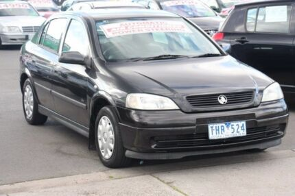 2001 Holden Astra TS City Black 4 Speed Automatic Hatchback