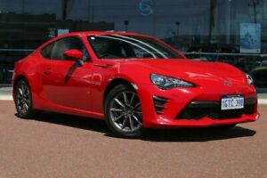 2016 Toyota 86 ZN6 GT Red/Black 6 Speed Manual Coupe