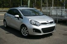 2014 Kia Rio UB MY14 S Silver 4 Speed Automatic Hatchback Birkdale Redland Area Preview