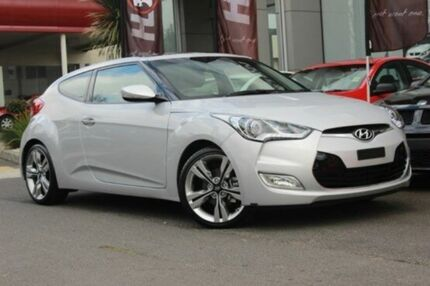 2014 Hyundai Veloster  Silver Sports Automatic Dual Clutch Hatchback Watsonia North Banyule Area Preview