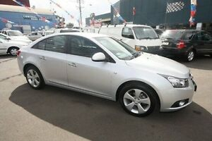 2010 Holden Cruze JG CDX Silver 6 Speed Sports Automatic Sedan Kingsville Maribyrnong Area Preview