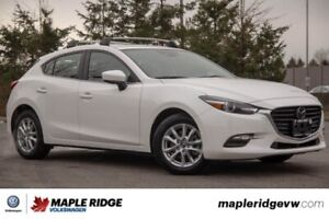 2018 Mazda Mazda3 Sport Touring ONE OWNER, NO ACCIDENTS, BC CAR!