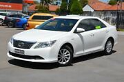 2013 Toyota Aurion GSV50R AT-X White 6 Speed Sports Automatic Sedan Broadmeadow Newcastle Area Preview
