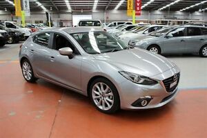 2015 Mazda 3 BM5438 SP25 SKYACTIV-Drive GT Aluminium 6 Speed Sports Automatic Hatchback Maryville Newcastle Area Preview