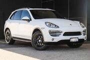 2012 Porsche Cayenne 92A MY13 Diesel Tiptronic White 8 Speed Sports Automatic Wagon Wangara Wanneroo Area Preview