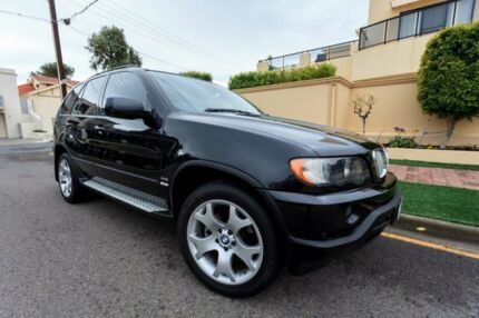 2003 BMW X5 E53 Steptronic Black 5 Speed Sports Automatic Wagon Hove Holdfast Bay Preview