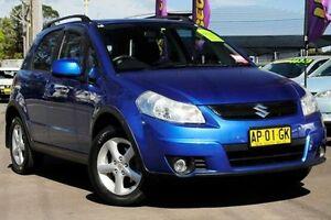 2007 Suzuki SX4 Blue Manual Hatchback North Gosford Gosford Area Preview