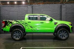 2012 Ford Ranger PX XL Double Cab Green 6 Speed Sports Automatic Utility Northbridge Perth City Area Preview