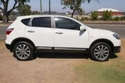 2012 Nissan Dualis J10 Series II MY2010 Ti Hatch X-tronic White 6 Speed Constant Variable Hatchback Wangara Wanneroo Area Preview