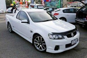 2011 Holden Ute VE II MY12 SS V White 6 Speed Manual Utility Dandenong Greater Dandenong Preview