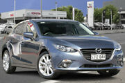 2013 Mazda 3 BM5438 SP25 SKYACTIV-Drive GT Grey 6 Speed Sports Automatic Hatchback Adelaide CBD Adelaide City Preview
