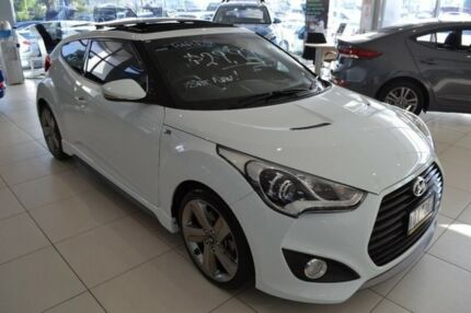 2014 Hyundai Veloster FS3 SR Coupe Turbo White 6 Speed Sports Automatic Hatchback Mill Park Whittlesea Area Preview