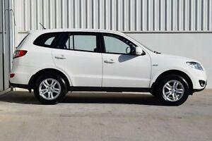 2009 Hyundai Santa Fe CM MY09 Upgrade SLX CRDi (4x4) White 5 Speed Automatic Wagon South Maitland Maitland Area Preview