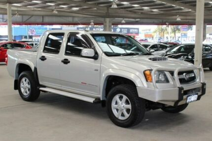 2010 Holden Colorado RC MY11 LX-R (4x4) Silver 5 Speed Manual Crew Cab P/Up