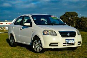 2009 Holden Barina TK MY09 White 4 Speed Automatic Sedan Rockingham Rockingham Area Preview