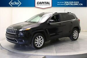 2016 Jeep Cherokee Limited 4WD *Navigation-Back Up Camera-Remote