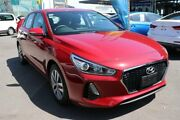 2017 Hyundai i30 PD MY18 Active Fiery Red 6 Speed Sports Automatic Hatchback Slacks Creek Logan Area Preview