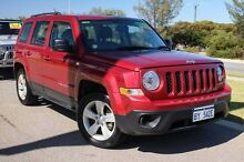2013 Jeep Patriot MK MY2013 Sport CVT Auto Stick 4x2 Red 6 Speed Constant Variable Wagon Mindarie Wanneroo Area Preview