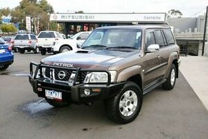 2006 Nissan Patrol GU IV MY05 ST-L Grey 4 Speed Automatic Wagon Nunawading Whitehorse Area Preview