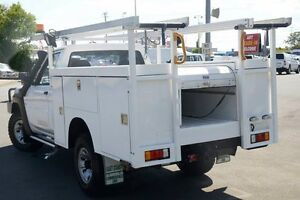 2012 Nissan Patrol GU 6 Series II DX White 5 Speed Manual Cab Chassis Acacia Ridge Brisbane South West Preview