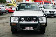 2008 Nissan Navara D40 ST-X King Cab Silver 5 Speed Automatic Utility Beaudesert Ipswich South Preview