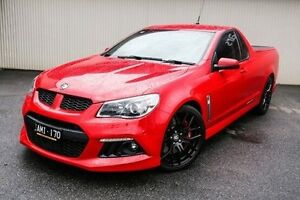 2013 Holden Special Vehicles Maloo Red Manual Utility Dandenong Greater Dandenong Preview