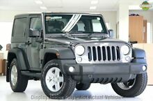 2014 Jeep Wrangler JK MY2014 Sport Grey 6 Speed Manual Softtop Balcatta Stirling Area Preview
