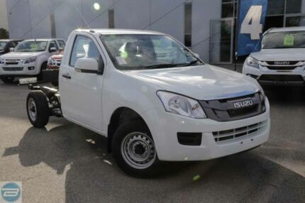 2015 Isuzu D-MAX MY15 SX Splash White 5 Speed Manual Cab Chassis Hillman Rockingham Area Preview