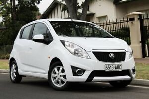 2011 Holden Barina Spark MJ MY11 CD White 5 Speed Manual Hatchback Nailsworth Prospect Area Preview