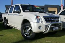2011 Isuzu D-MAX MY11 Limited Edition III White 4 Speed Automatic Utility Pearsall Wanneroo Area Preview