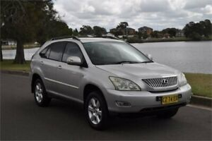 2005 Lexus RX330 MCU38R Update Sports Silver 5 Speed Sequential Auto Wagon Five Dock Canada Bay Area Preview
