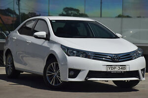 2015 Toyota Corolla ZRE172R SX Glacier White 7 Speed CVT Auto Sequential Sedan Old Guildford Fairfield Area Preview