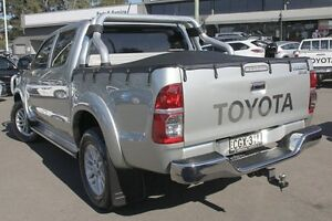 2012 Toyota Hilux KUN26R MY12 SR5 Double Cab Sterling Silver 5 Speed Manual Utility Windsor Hawkesbury Area Preview