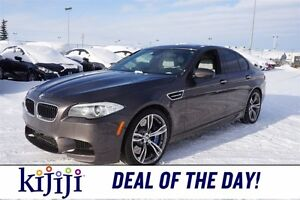 2012 BMW M5 Accident Free,  Leather,  Sunroof,  Heated Seats,