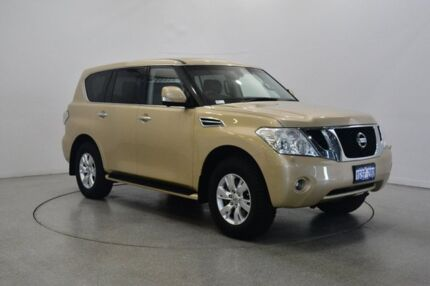 2015 Nissan Patrol Y62 MY15 TI-L Gold 7 Speed Sports Automatic Wagon Victoria Park Victoria Park Area Preview