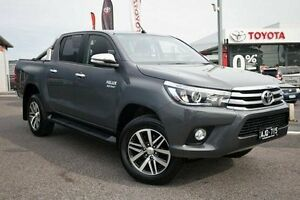 2016 Toyota Hilux GUN126R SR5 Double Cab Grey 6 Speed Sports Automatic Utility Keysborough Greater Dandenong Preview