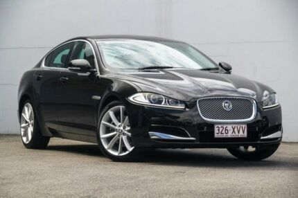 2012 Jaguar XF X250 MY13 Luxury Black 8 Speed Sports Automatic Sedan Albion Brisbane North East Preview