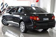 2008 Toyota Corolla ZRE152R Ascent Black Mica 4 Speed Automatic Sedan South Melbourne Port Phillip Preview