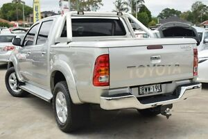 2011 Toyota Hilux KUN26R MY12 SR5 (4x4) Silver 4 Speed Automatic Dual Cab Pick-up Old Guildford Fairfield Area Preview