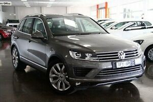 2016 Volkswagen Touareg 7P MY16 V6 TDI Tiptronic 4MOTION Grey 8 Speed Sports Automatic Wagon Frankston Frankston Area Preview
