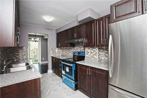 Beautiful 3 B/R, 2 Full W/R FREE HOLD condo T/House at Prime Loc