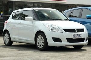 2012 Suzuki Swift FZ GA White 4 Speed Automatic Hatchback Croydon Maroondah Area Preview