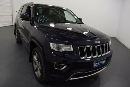 2015 Jeep Grand Cherokee WK MY15 Limited (4x4) Dark Blue 8 Speed Automatic Wagon