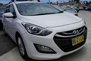 2013 Hyundai i30 GD Active Tourer White 6 Speed Sports Automatic Wagon Pearce Woden Valley Preview