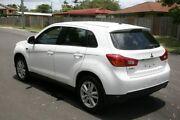 2014 Mitsubishi ASX XB MY14 White 6 Speed Sports Automatic Wagon Slacks Creek Logan Area Preview