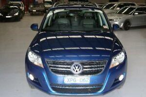 2010 Volkswagen Tiguan 5NC MY11 125 TSI Blue 7 Speed Auto Direct Shift Wagon