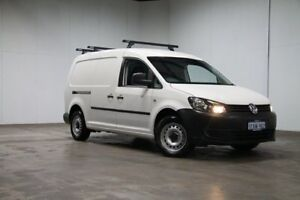 2014 Volkswagen Caddy 2KN MY14 TDI250 BlueMOTION Crewvan Maxi DSG White 7 Speed Welshpool Canning Area Preview